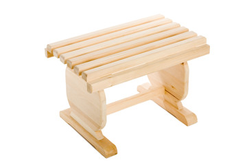small bench wooden
