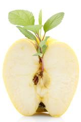 half apples