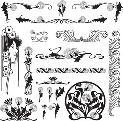 a set of patterns for design purposes