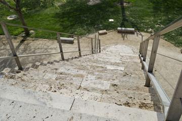 Escalera Rio Seco