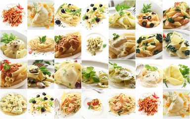 Collage - Pasta Dishes