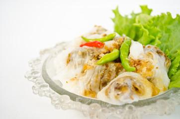 Steamed rice-skin dumplings
