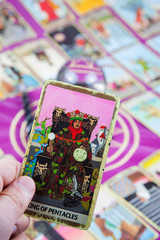 King of Pentacles, Tarot card, Major Arcana