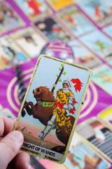Knight of Wands, Tarot card, Major Arcana