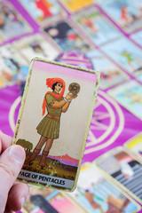 Page of Pentacles, Tarot card, Major Arcana