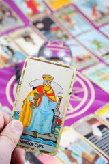 King of Cups, Tarot card, Major Arcana