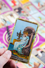 Queen of Cups, Tarot card, Major Arcana