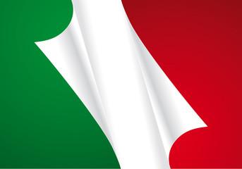 Bandiera italiana new
