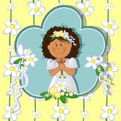 Prima comunione bambina-first communion girl
