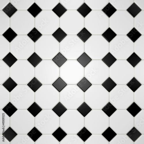 """Carrelage Noir Blanc carrelage noir et blanc"""" photo libre de droits sur la banque d"""