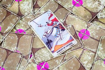 Knight of Swords, Tarot card, Major Arcana (2)