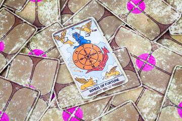 Wheel of Fortune, Tarot card, Major Arcana (2)