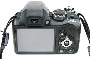 Black photo camera