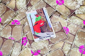 King of Wands, Tarot card, Major Arcana (2)