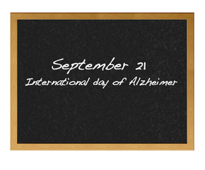 International day of Alzheimer.