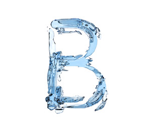 B letter water