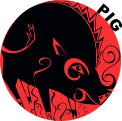 Chinese Horoscope_pig