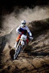 Fototapete - motocross