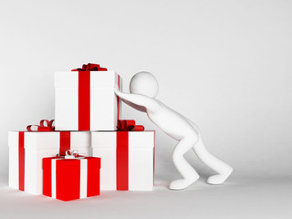 many gifts specifically for the holiday
