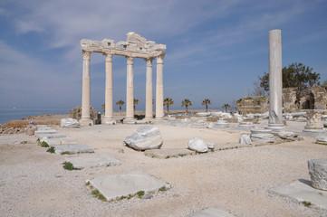 Apollon-Tempel in Side, Türkei