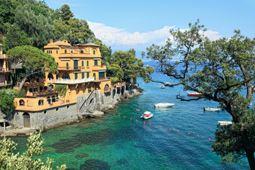 Small bay. Portofino, Italy.