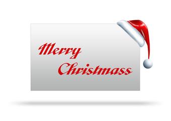 merry christmas written on paper