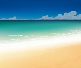 Beautiful on the beach
