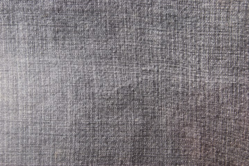 Jeans fabric texture of the gray color