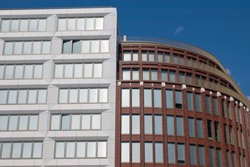 New modern buildings in Berlin