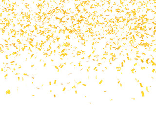 festive background of confetti 3d render