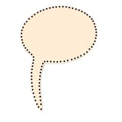 3d render of speech bubble