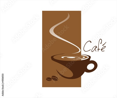 """hot coffee cup , cafeteria , business logo design"" Stock ..."