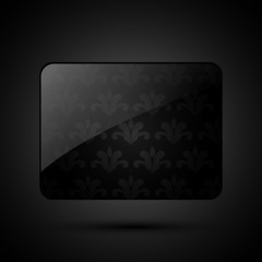 luxurious dark retro banner