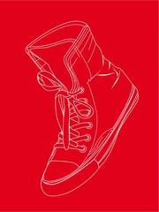 silhouette sneaker
