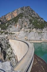 Staumauer des Oberen Manavgat-Stausees