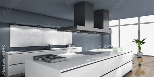 moderne k che stockfotos und lizenzfreie bilder auf bild 41139902. Black Bedroom Furniture Sets. Home Design Ideas