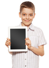 Ñhild with a Tablet PC