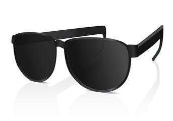 Sun glasses. Vector illustration on white background