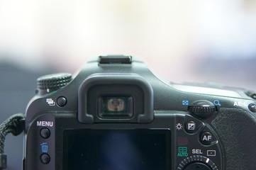カメラのクローズアップ