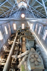 Antique Machinery in a Mill