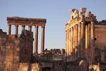 Baalbek ruins in Lebanon