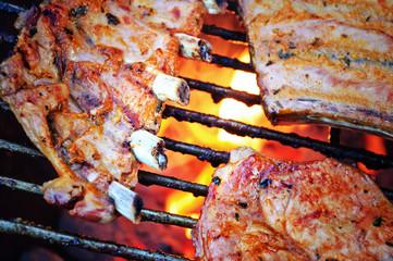 Aluminium Prints Grill / Barbecue Barbecue