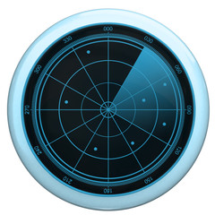 Digital Radar screen button