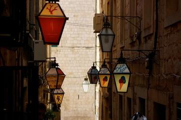 【世界遺産】クロアチア ドブロブニク旧市街 町並み