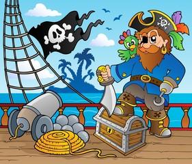 Pirate ship deck theme 2