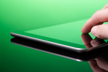 Tablet PC is green (eco)