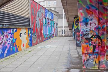 Painted City Walkway