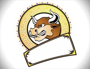 Logotipo Toro Mexicano