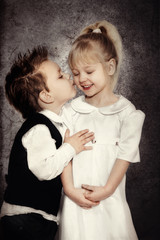 Küsschen - Vintagelook