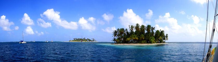 San Blas Islands Panorama